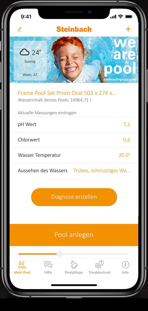 Wasserpflege App